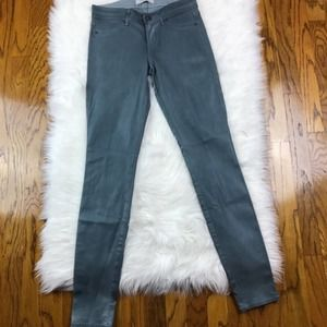 Rich and Skinny Gray Coated Jeans 25